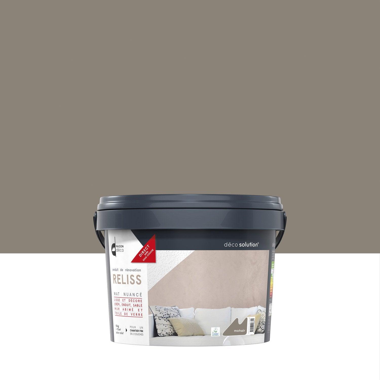 Voir dautres produits · peinture à effet reliss 2 en 1 maison deco mohair 15 kg