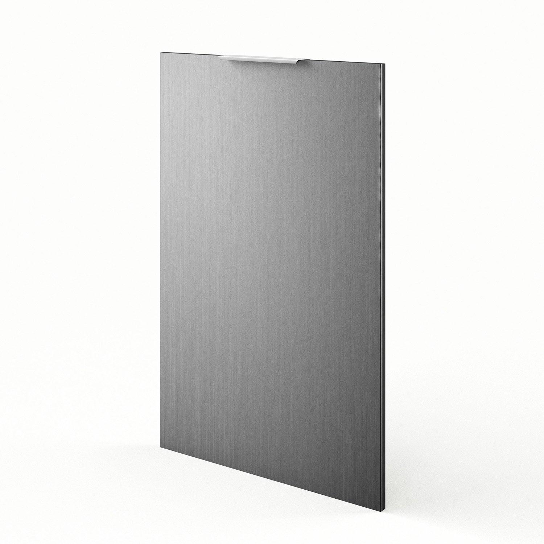 Porte de cuisine d cor aluminium f60 92 stil l60 x h92 cm for Decoration porte aluminium