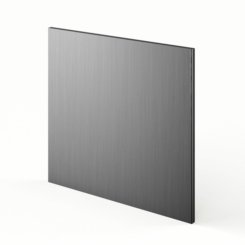 Porte pour lave vaisselle int grable d cor aluminium - Lave vaisselle porte a glissiere ...
