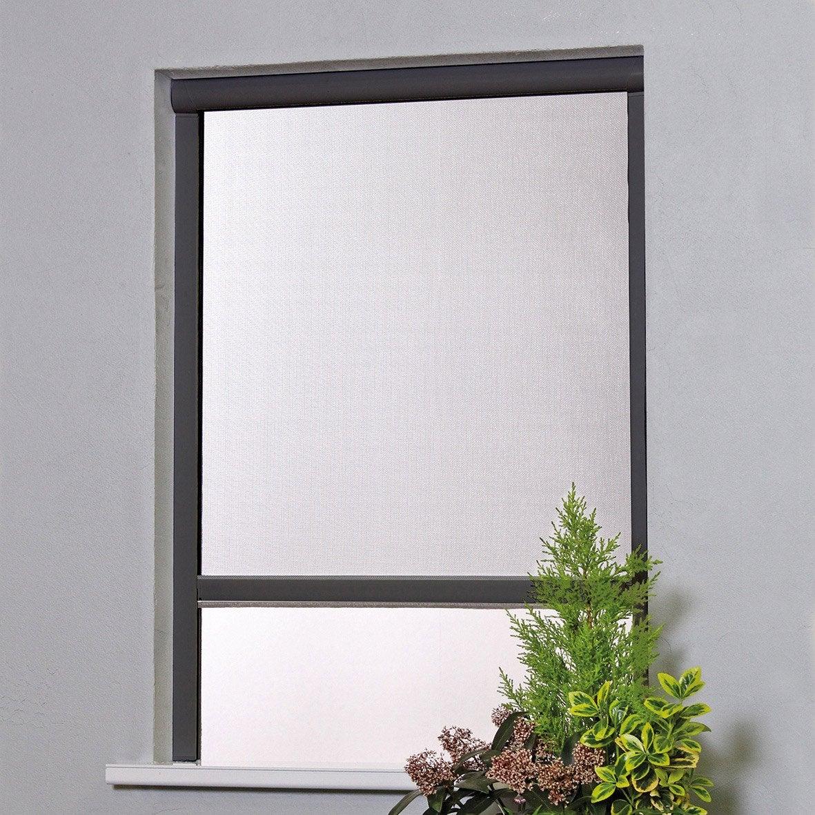 moustiquaire pour fen tre x cm leroy merlin. Black Bedroom Furniture Sets. Home Design Ideas