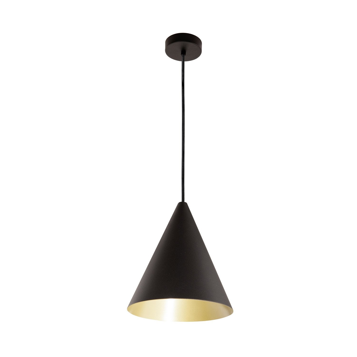Suspension design rubio m tal noir or 1 x 60 w eglo leroy merlin - Suspension new york leroy merlin ...