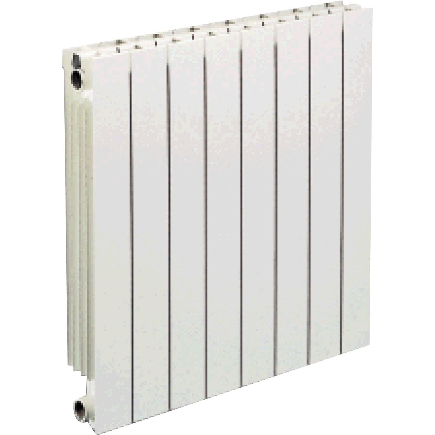 radiateur chauffage central vip 8 l ments blanc cm 1000 w leroy merlin. Black Bedroom Furniture Sets. Home Design Ideas