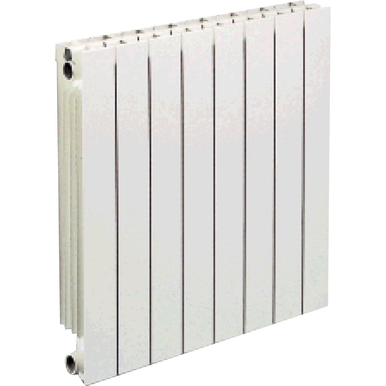 radiateur chauffage central vip 6 l ments blanc cm 858 w leroy merlin. Black Bedroom Furniture Sets. Home Design Ideas
