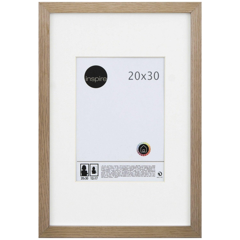 cadre bois inspire lario 20 x 30 cm chene clair jpg