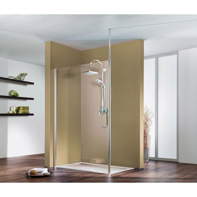 Paroi de douche l 39 italienne entra support plafond for Panneau de douche leroy merlin