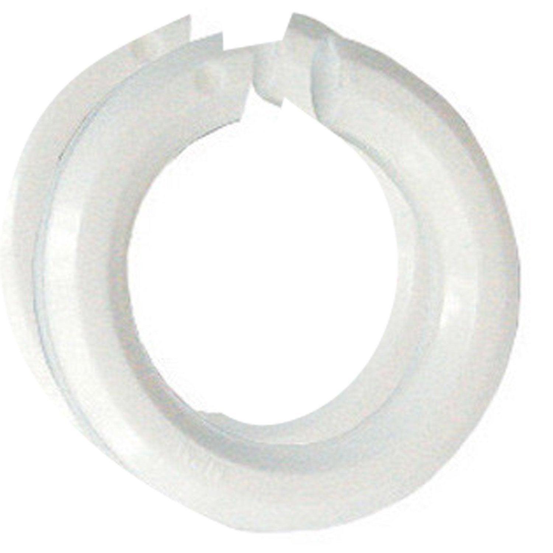 Lot de 2 bagues abat jour b22 e14 tibelec plastique for Abat jour leroy merlin