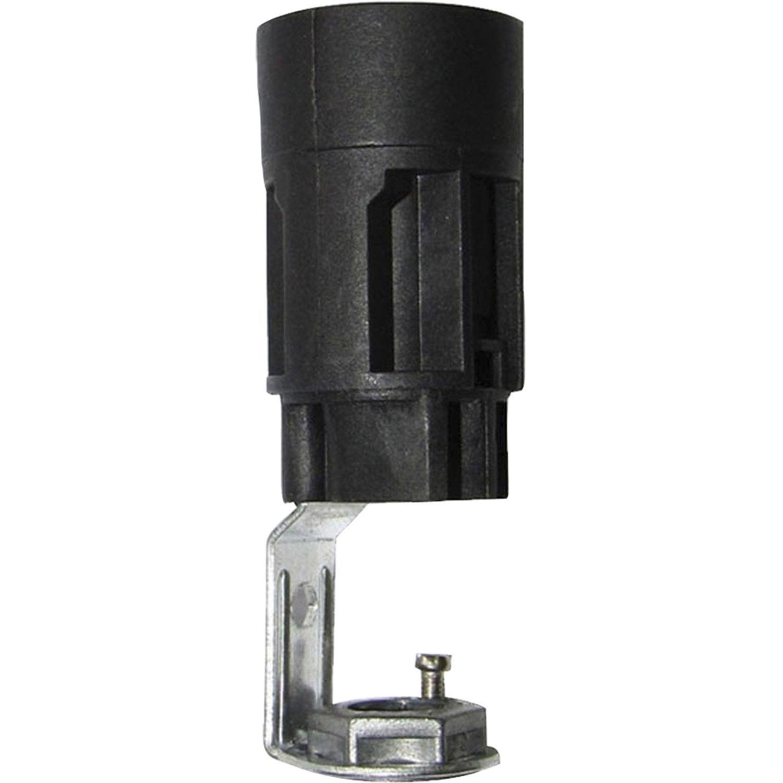 Support e14 tibelec plastique noir 60 w leroy merlin for Leroy merlin lampadine led e14