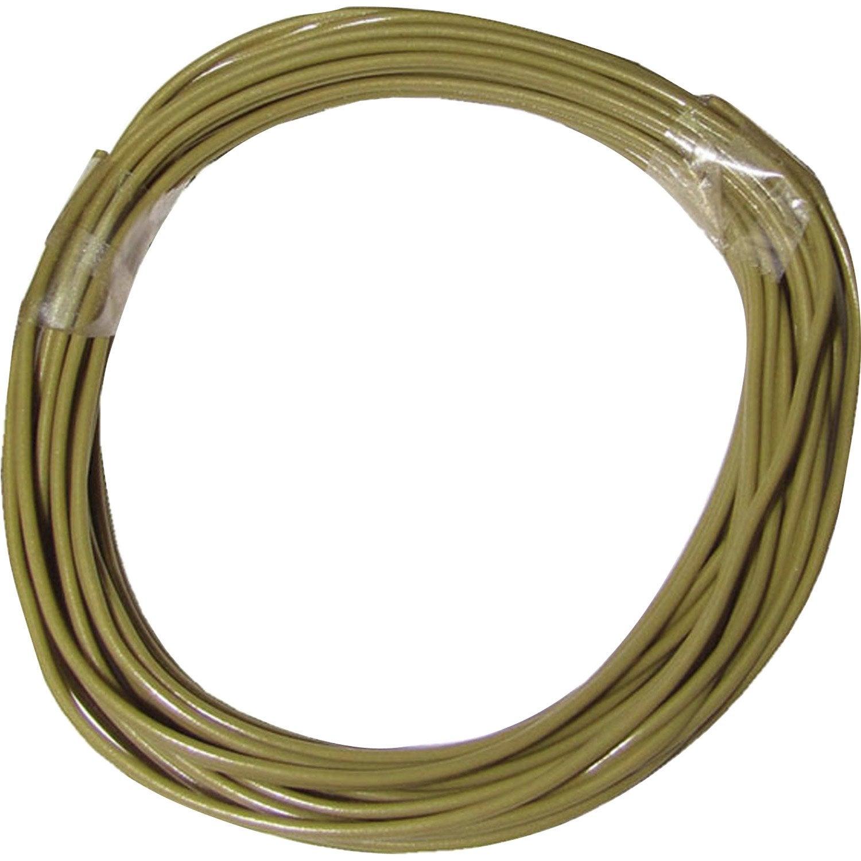 Fil plat tibelec diam 5 mm 3m plastique or leroy merlin - Fil inox leroy merlin ...