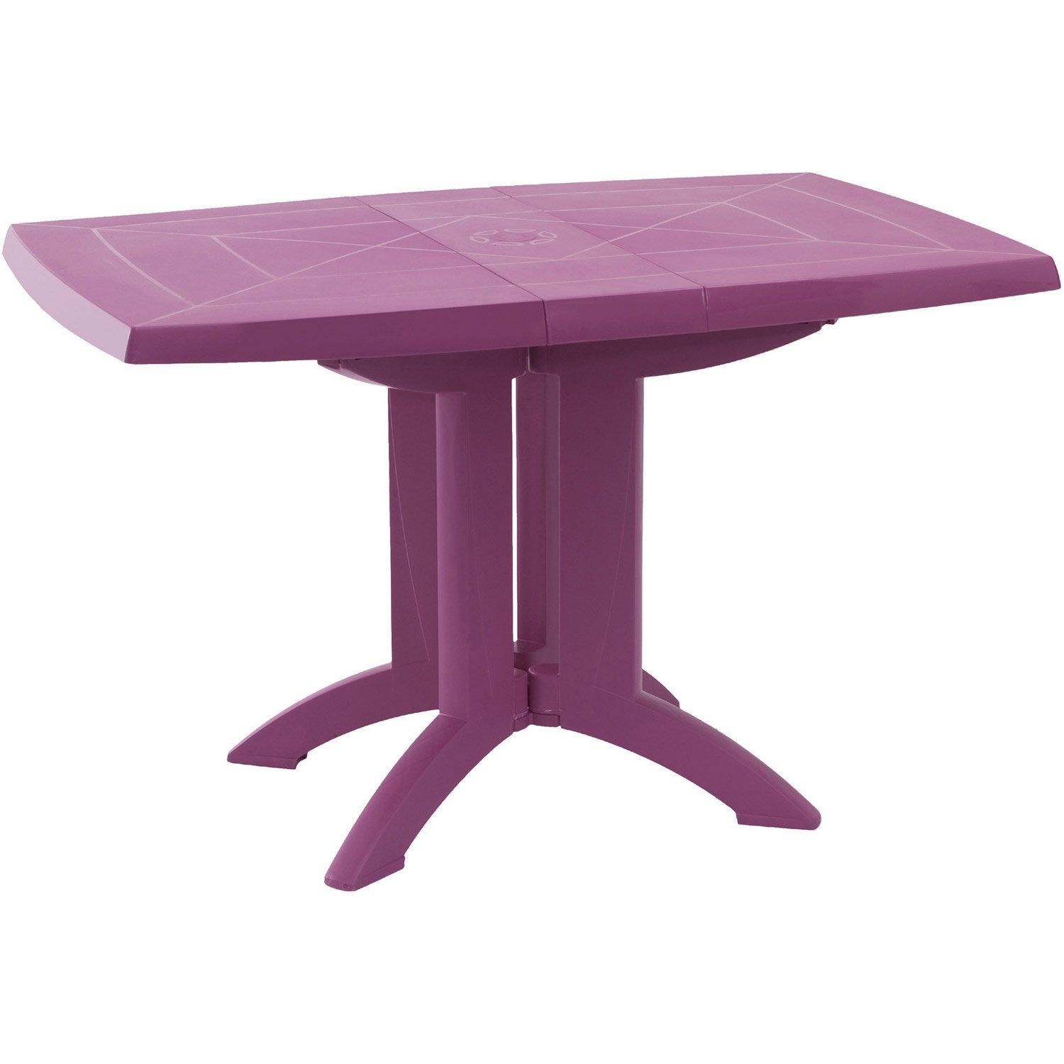 Table de salon de jardin pliante for Mobilier de jardin leroy merlin