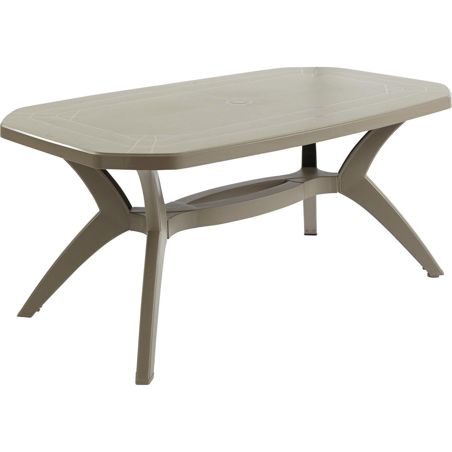 Emejing table jardin resine grosfillex contemporary - Leroy merlin la eliana ...