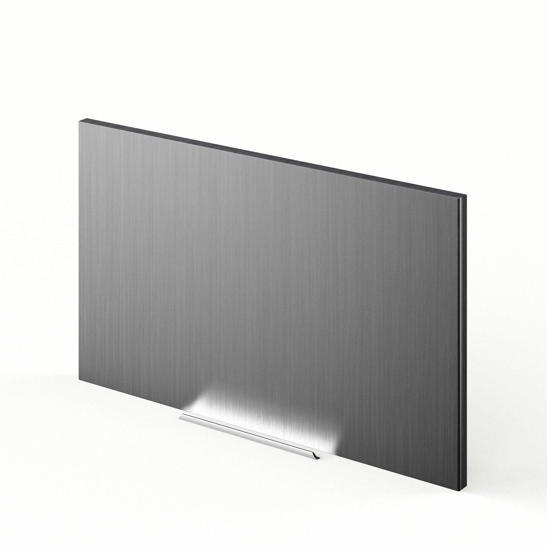Porte de cuisine d cor aluminium f60 35 stil l60 x h35 cm for Porte cuisine aluminium