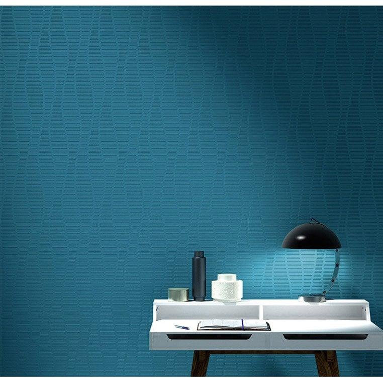 Rev tement de r novation sur intiss 3d erismann 4016 01 200 g m leroy m - Toile de renovation leroy merlin ...