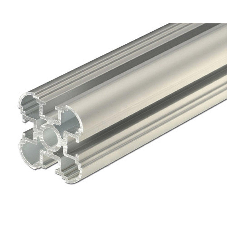 colonne aluminium brut l 1 m x l cm x h cm leroy merlin. Black Bedroom Furniture Sets. Home Design Ideas