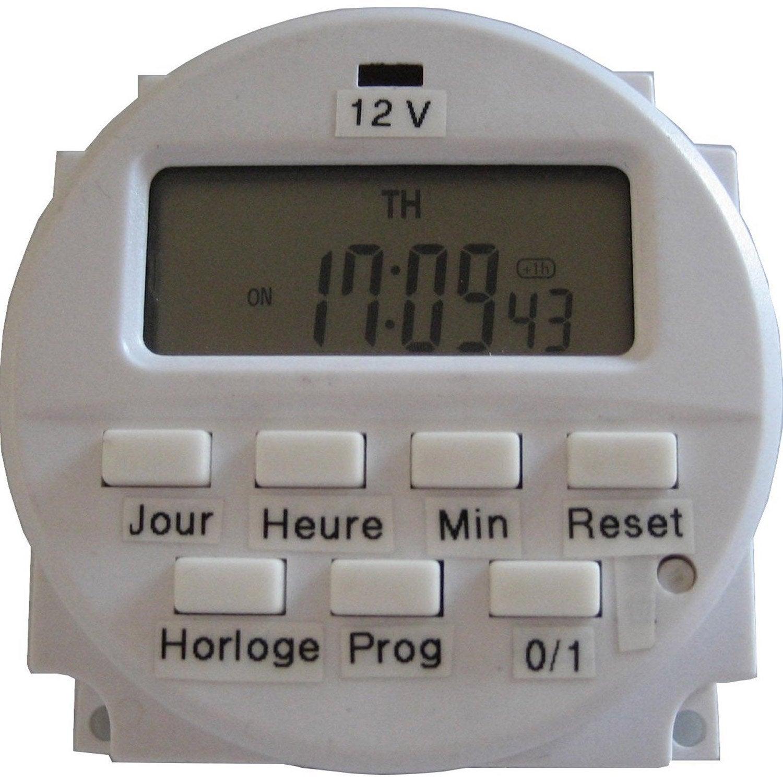 Programmateur 12v leroy merlin - Aerateur salle de bain 12 volts ...