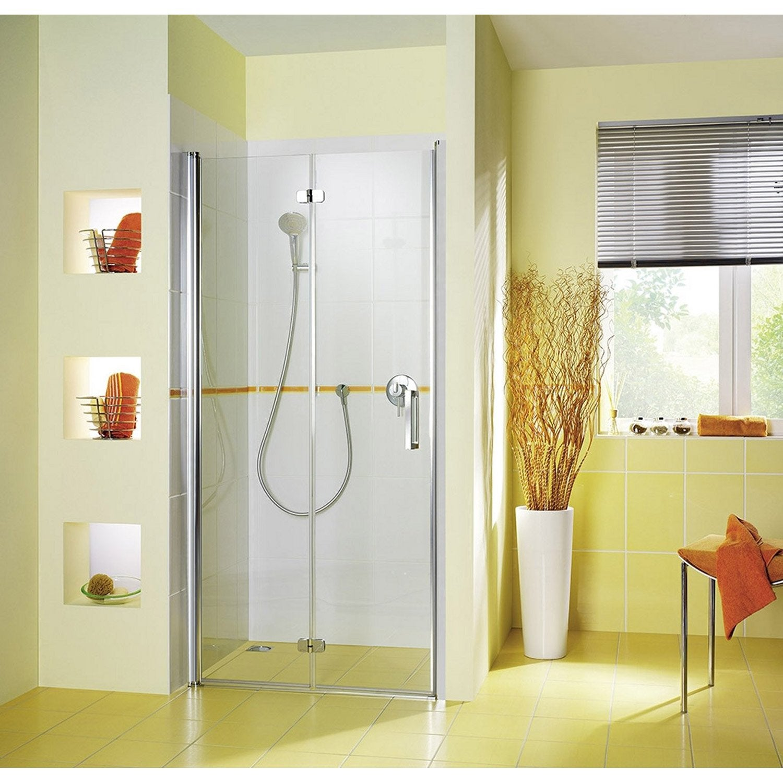 Porte de douche pivo pliante BREUER Entra verre de