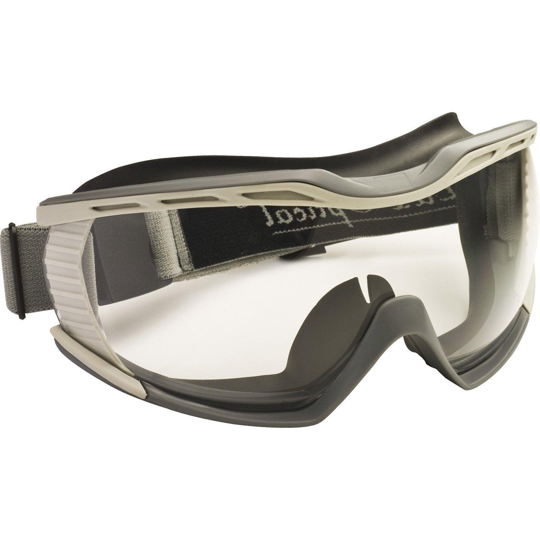 lunettes masque de protection dexter ad60680 verre incolore leroy merlin. Black Bedroom Furniture Sets. Home Design Ideas
