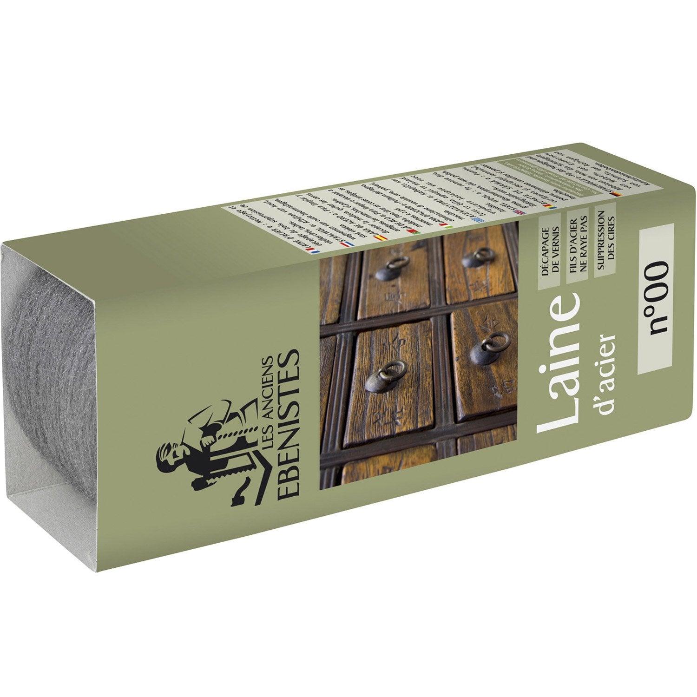 laine d 39 acier n 00 les anciens ebenistes acier leroy merlin. Black Bedroom Furniture Sets. Home Design Ideas