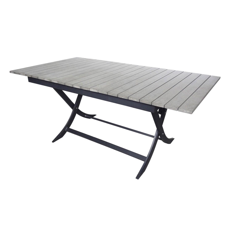 Table table de jardin pratt meilleures id es pour la - Table de jardin aluminium leroy merlin ...
