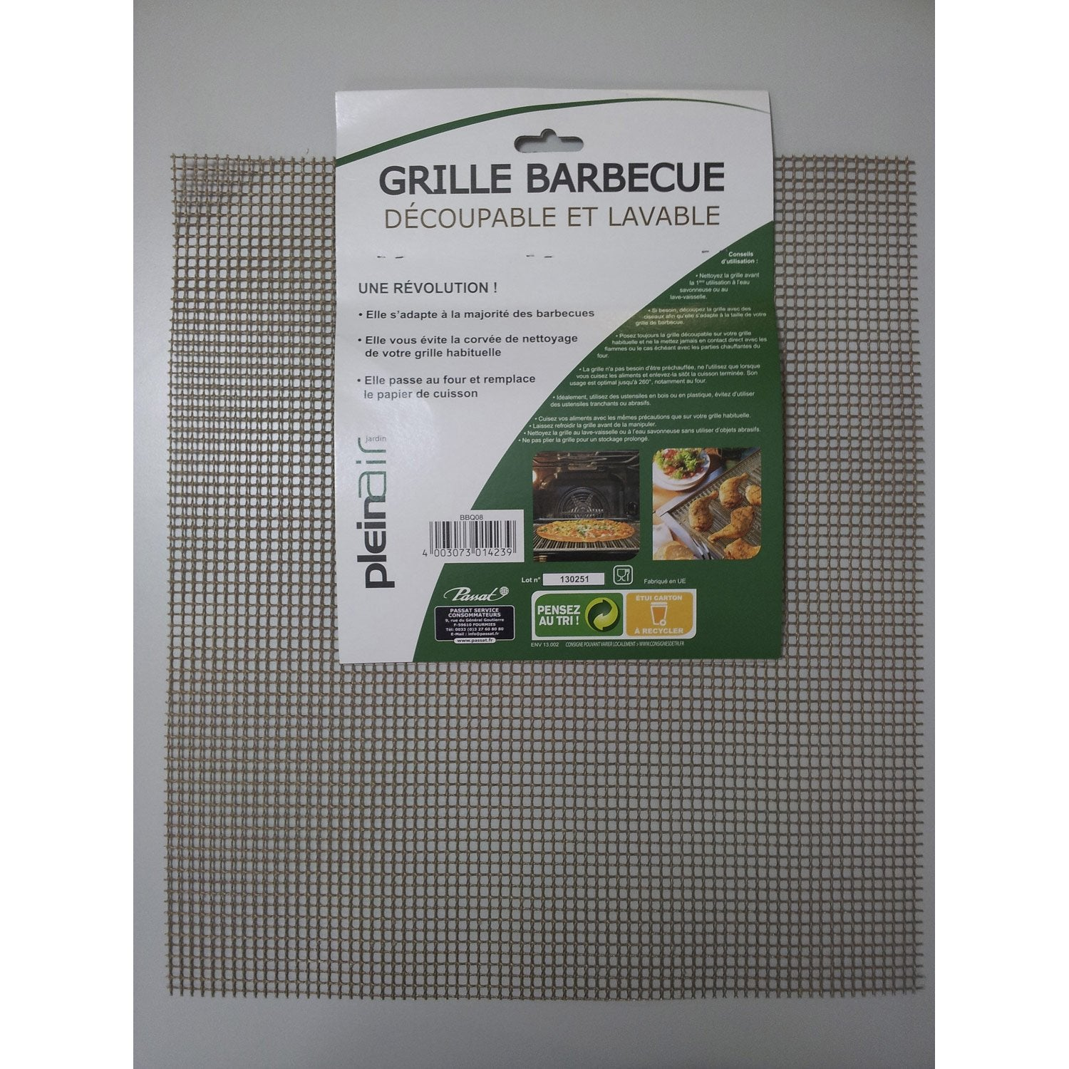 Grille rectangle de barbecue leroy merlin - Grille de barbecue en inox ...