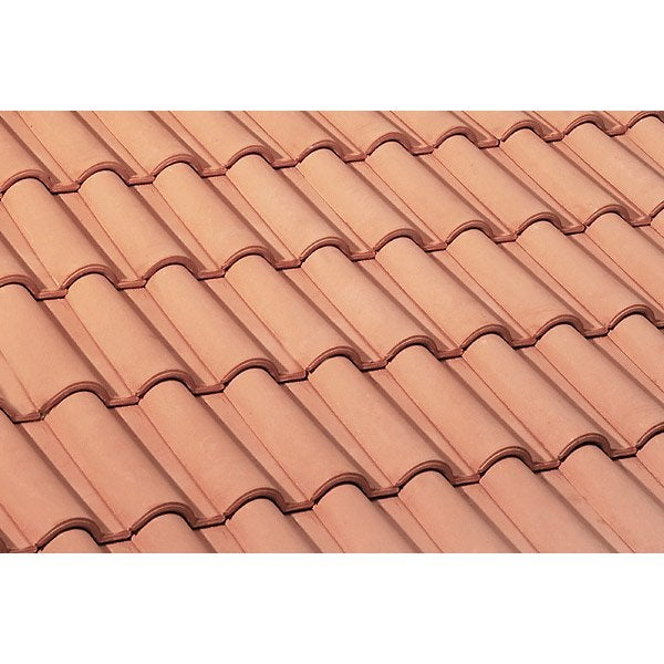 Tuile monier rose lafarge romane 14 leroy merlin - Peinture pour toiture tuile beton prix ...