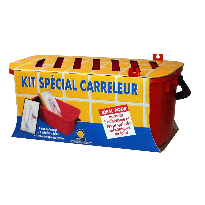 kit sp 233 cial carreleur prb bac de lavage taloche 224 joint et taloche 233 ponge leroy merlin