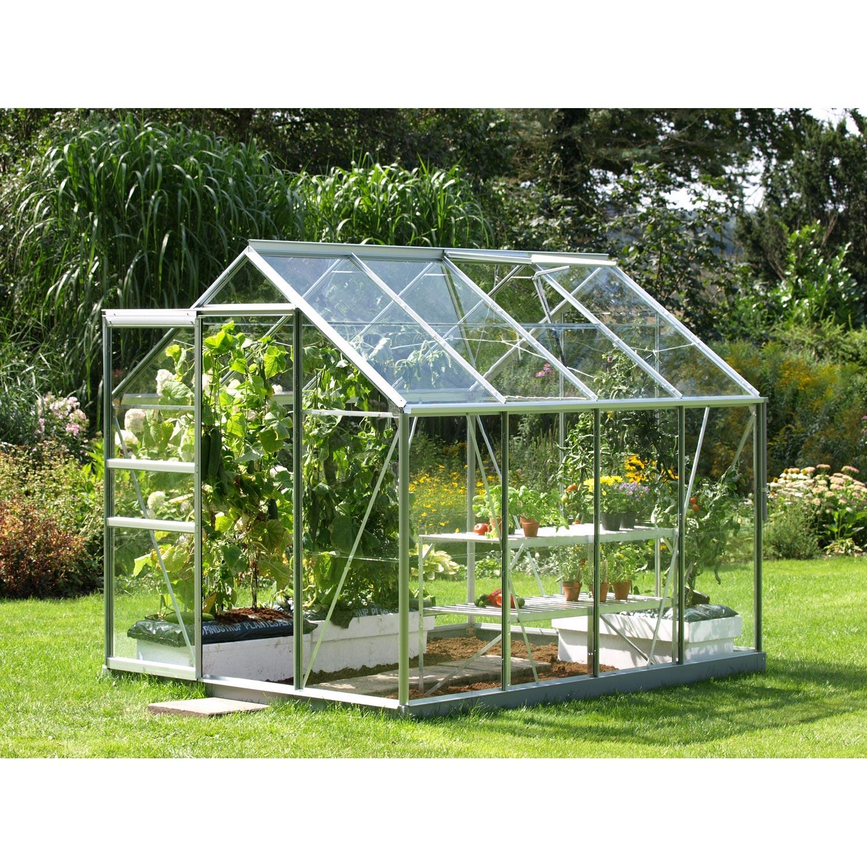 Serre venus 5000 en verre horticole m leroy merlin for Fontaine pour jardin leroy merlin