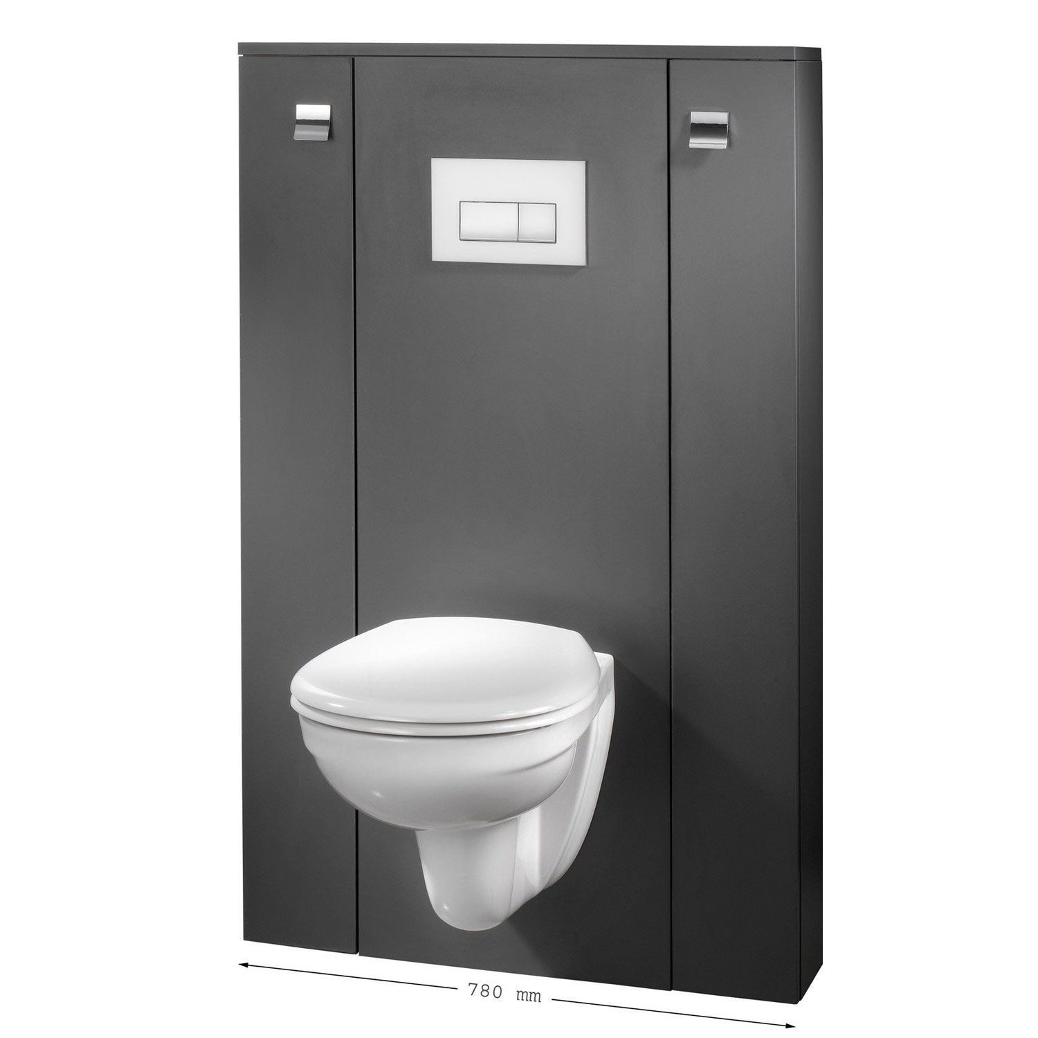 coffrage wc suspendu avec rangement amazing meuble wc ikea meuble rangement wc ikea rangement. Black Bedroom Furniture Sets. Home Design Ideas