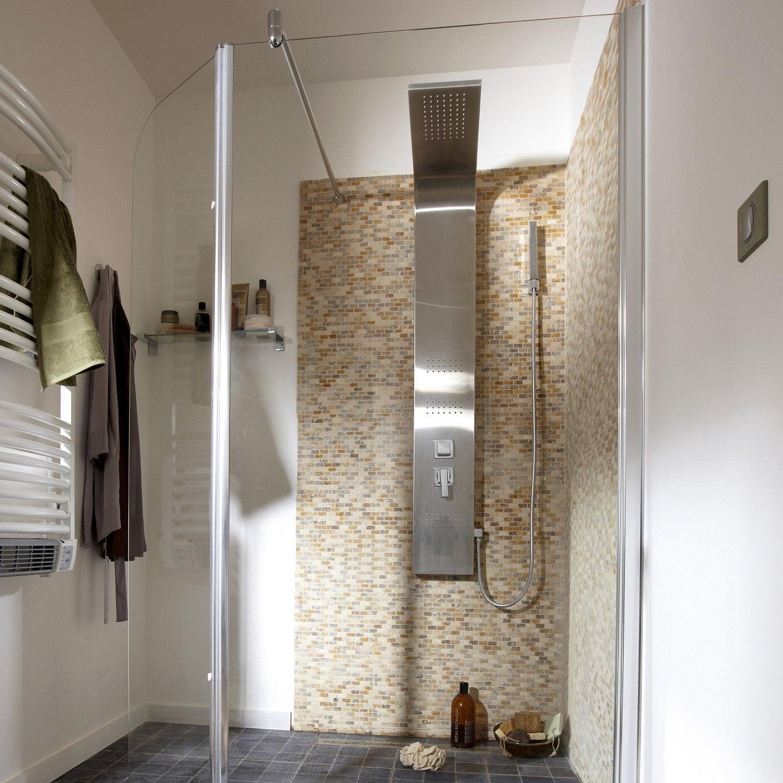 pose d 39 une colonne de douche par leroy merlin leroy merlin. Black Bedroom Furniture Sets. Home Design Ideas