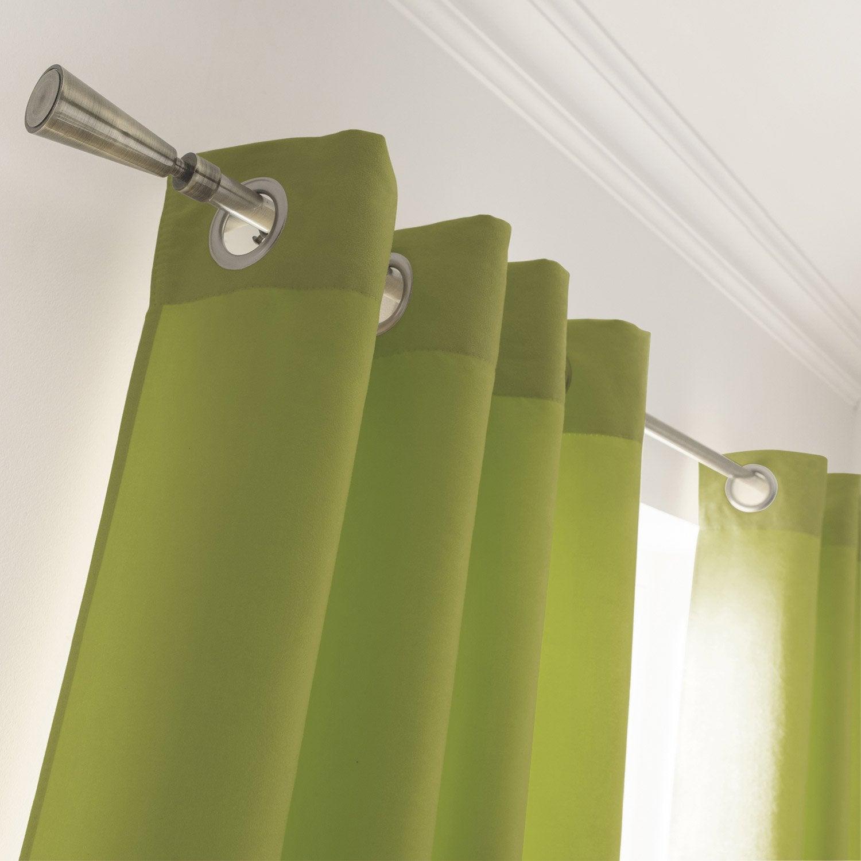 rideau de couleur vert militaire photo. Black Bedroom Furniture Sets. Home Design Ideas