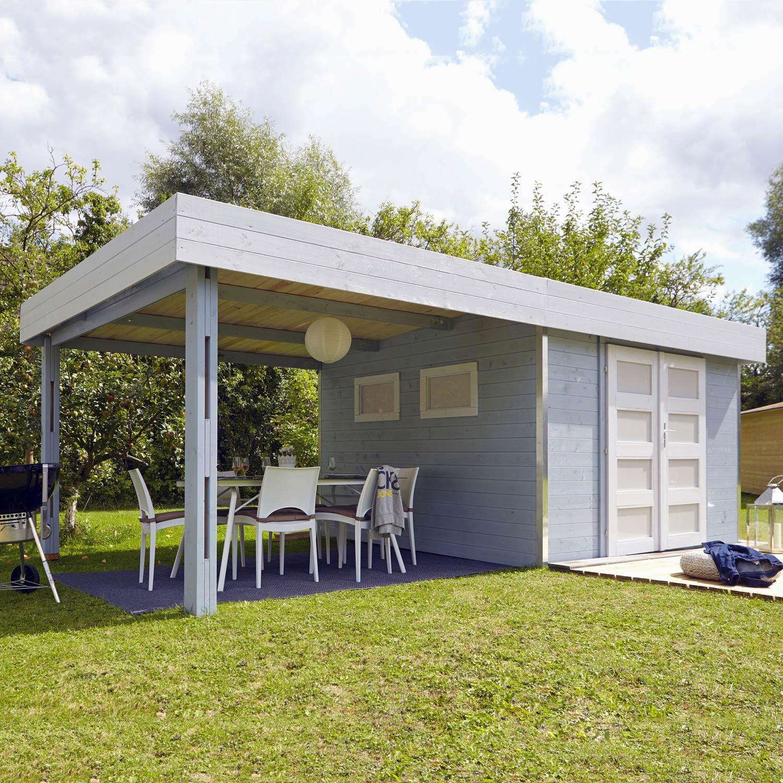 abri bois louj m mm leroy merlin. Black Bedroom Furniture Sets. Home Design Ideas