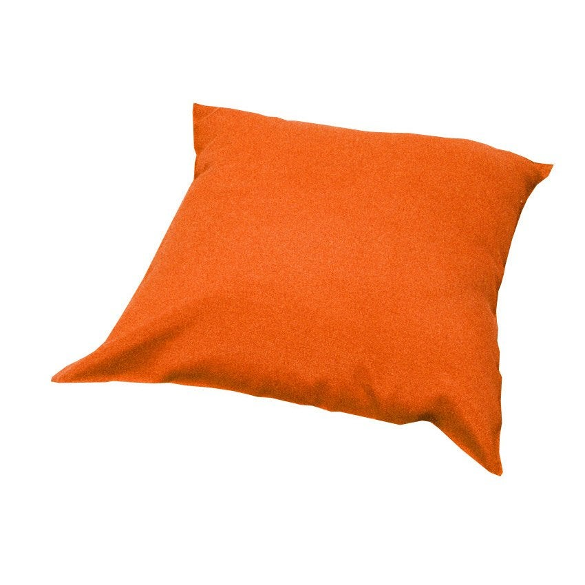 coussin orange lola naterial leroy merlin