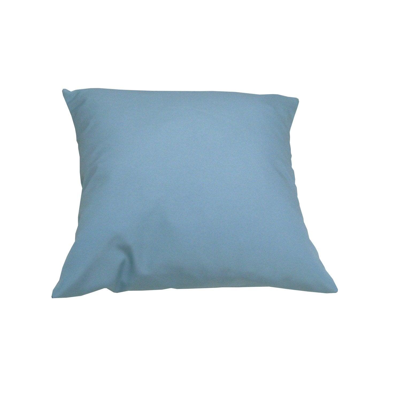 coussin bleu lola naterial leroy merlin. Black Bedroom Furniture Sets. Home Design Ideas