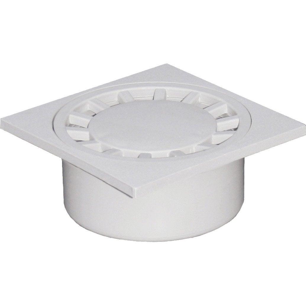 Siphon de cour gris polypropyl ne x cm leroy for Siphon de cour 30x30
