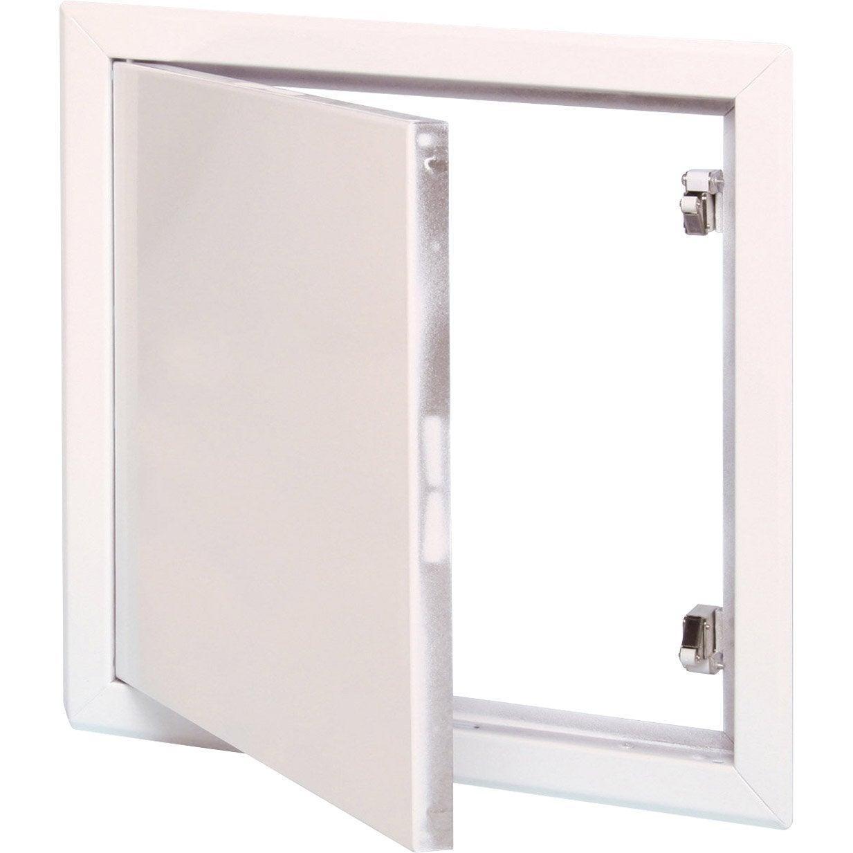 Trappe de visite blanche laqu e semin 80 x 80 cm leroy for Fenster 80 x 80