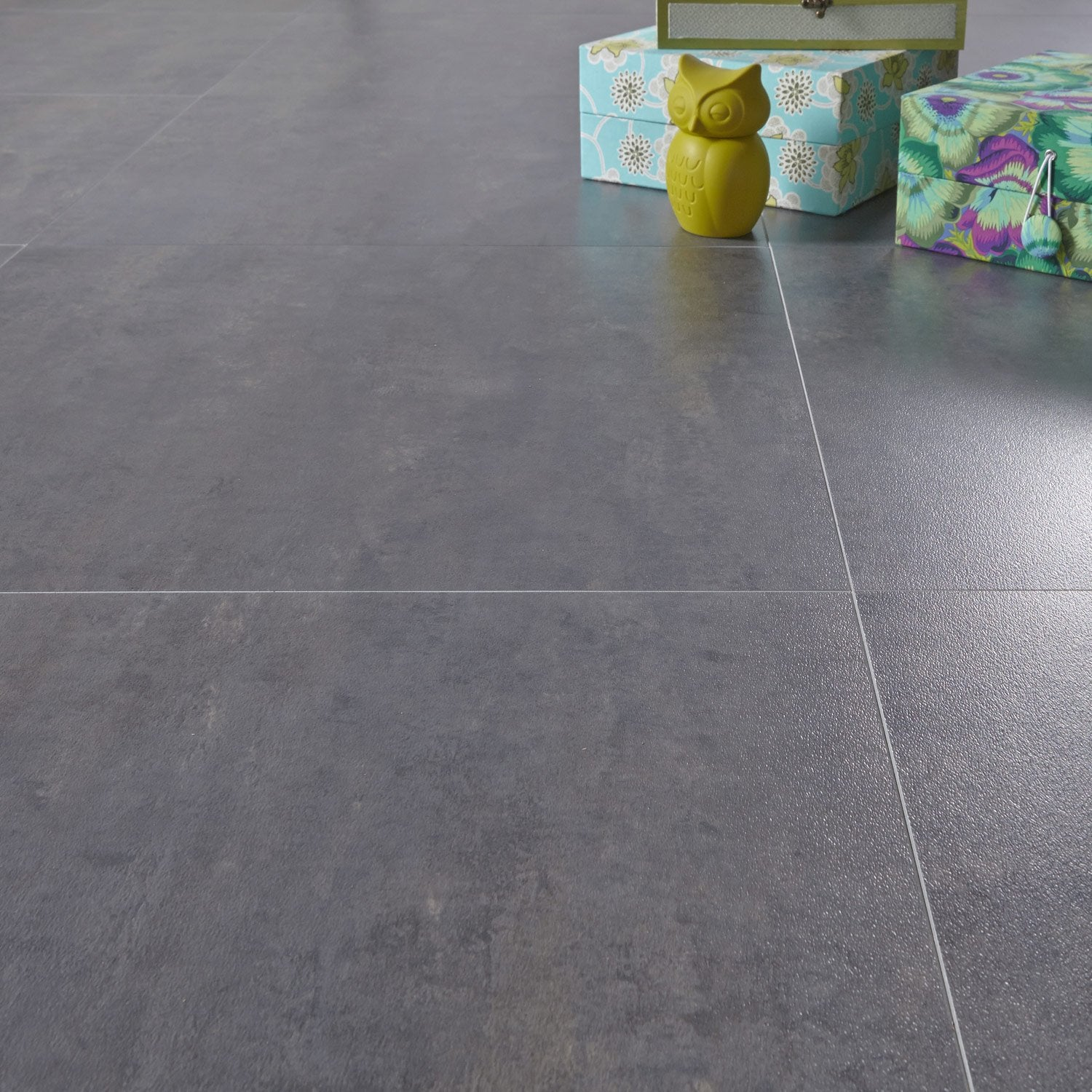 Dalle pvc adh sive gerflor caractere distinctive sugar 60 - Dalle clipsable leroy merlin ...