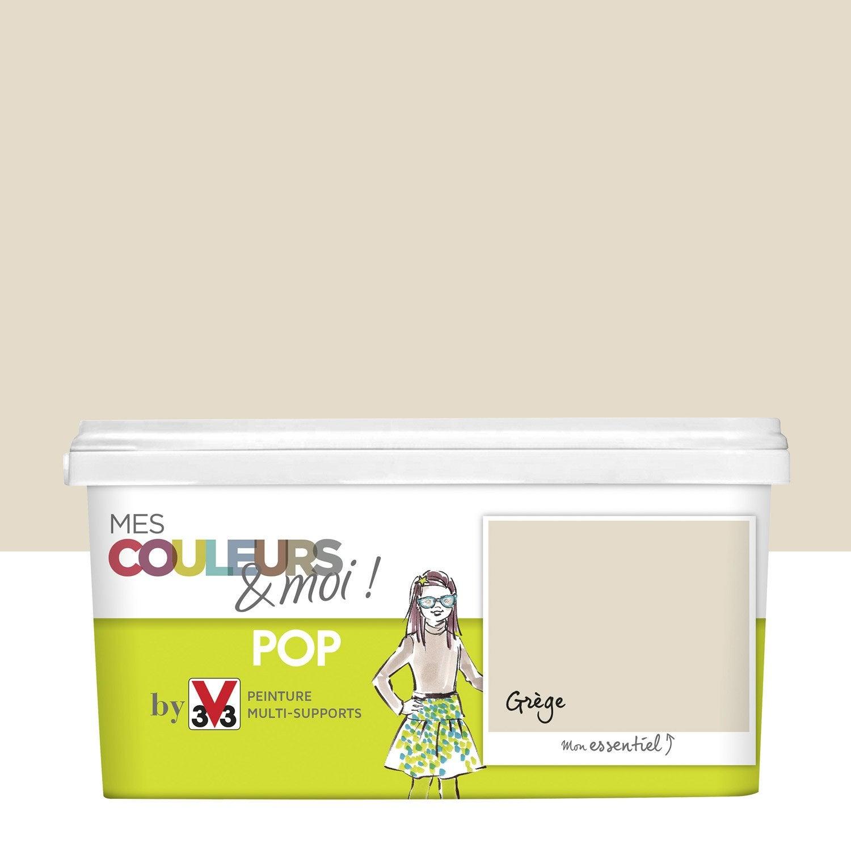 Peinture beige gr ge v33 mes couleurs et moi pop 2 5 l - Coloris peinture cuisine ...