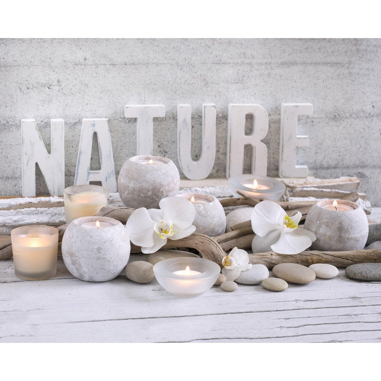 affiche love nature x cm leroy merlin. Black Bedroom Furniture Sets. Home Design Ideas