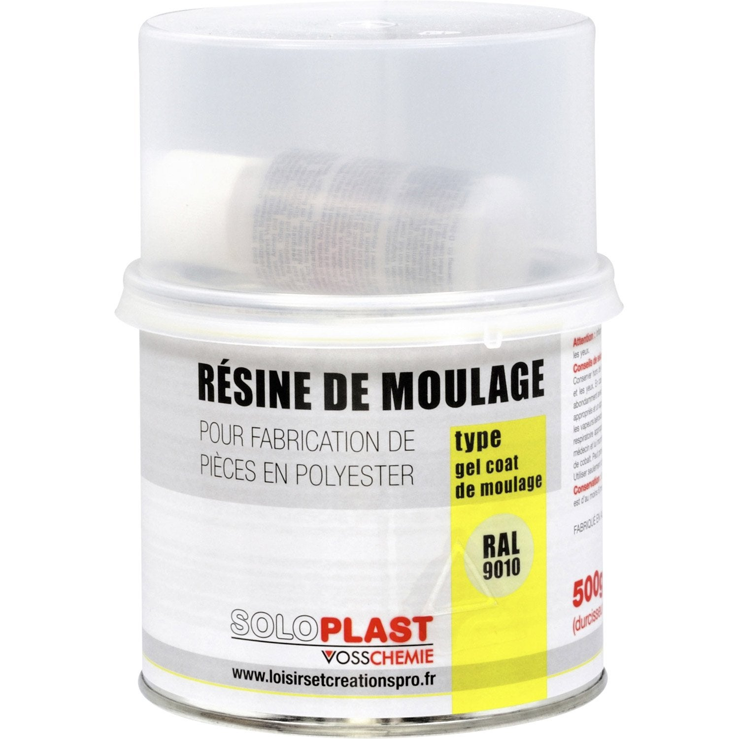 R sine gel coat soloplast 500g leroy merlin for Resine polyester leroy merlin