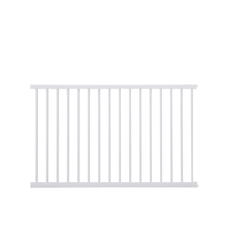 Echelle pour garde corps kital aluminium blanc x cm leroy merlin - Eclairage escalier leroy merlin ...