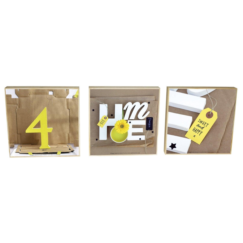3 toiles imprim es home 20 x 20 cm leroy merlin - Prime eco energie leroy merlin ...