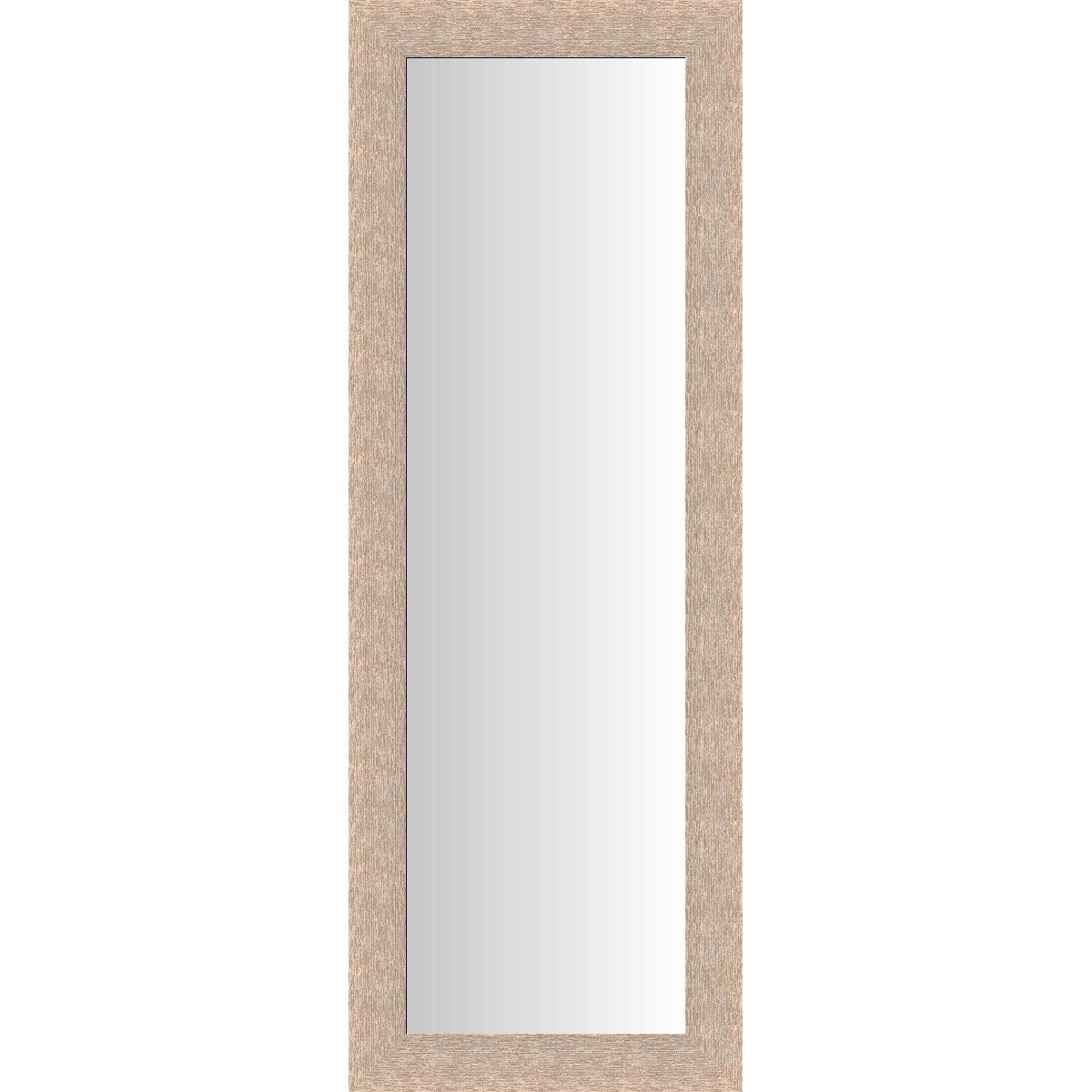Miroir dublin ch ne clair 40x140 cm leroy merlin for Miroir decoratif leroy merlin