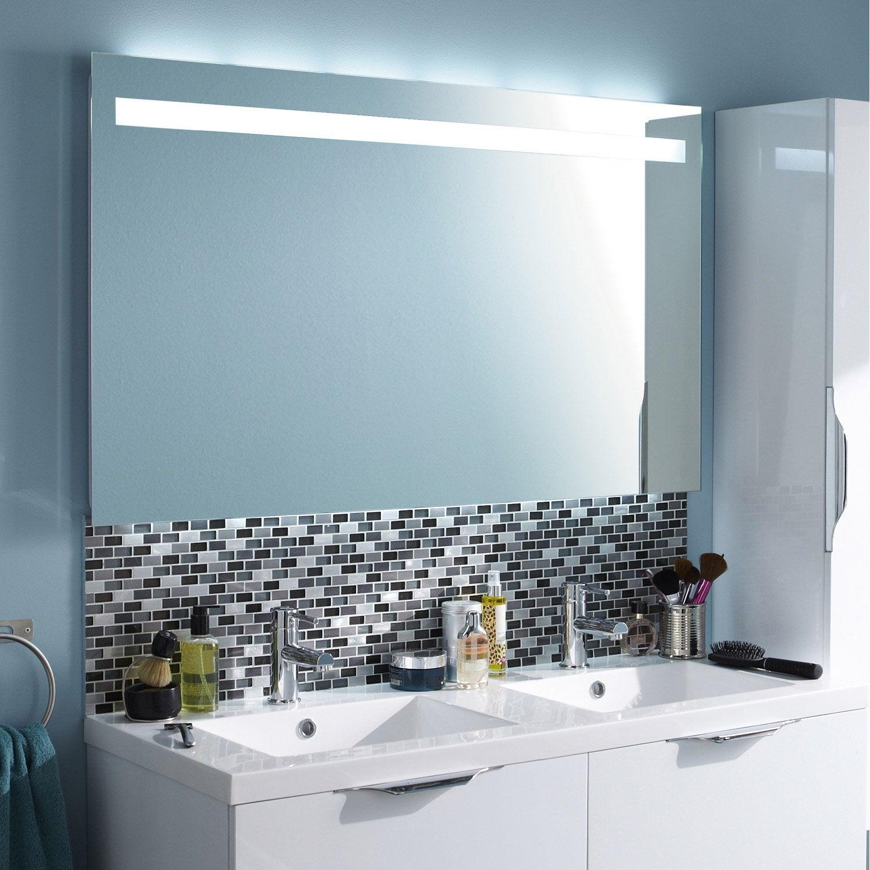 Miroir salle de bain lumiere integree miroir rasage salle for Miroir avec lumiere