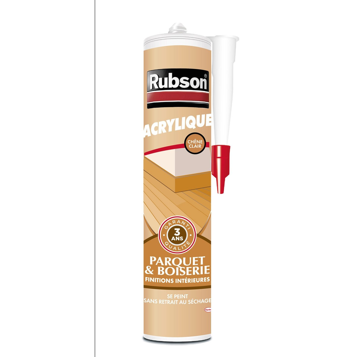 Mastic d 39 tanch it rubson mur int rieur finition 280 ml for Mastic bois exterieur