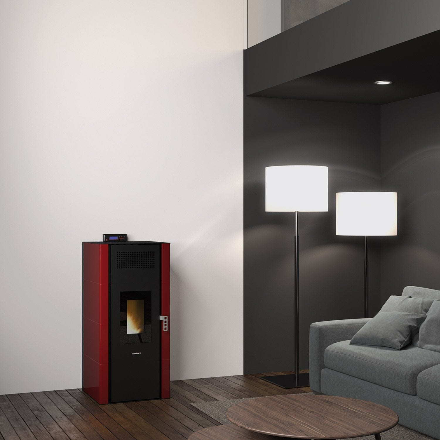 po le granul s freepoint hydro idron bordeaux 22 8 kw. Black Bedroom Furniture Sets. Home Design Ideas