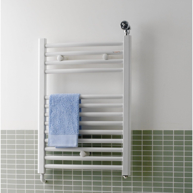 s che serviettes eau chaude acier deltacalor recto c blanc. Black Bedroom Furniture Sets. Home Design Ideas
