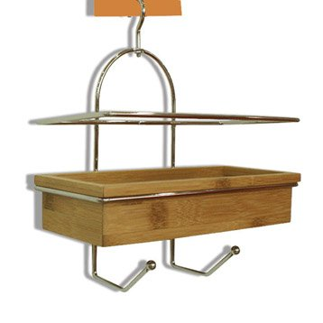 etag re de bain douche wellness suspendre au combin naturel sensea leroy merlin. Black Bedroom Furniture Sets. Home Design Ideas