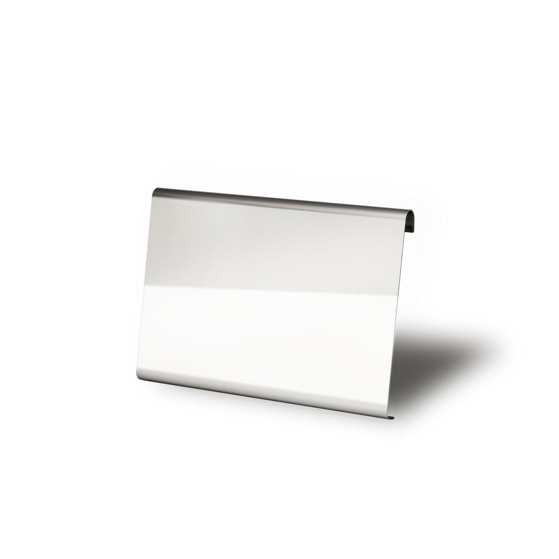 plaque pour s che serviettes morpheo inox leroy merlin. Black Bedroom Furniture Sets. Home Design Ideas