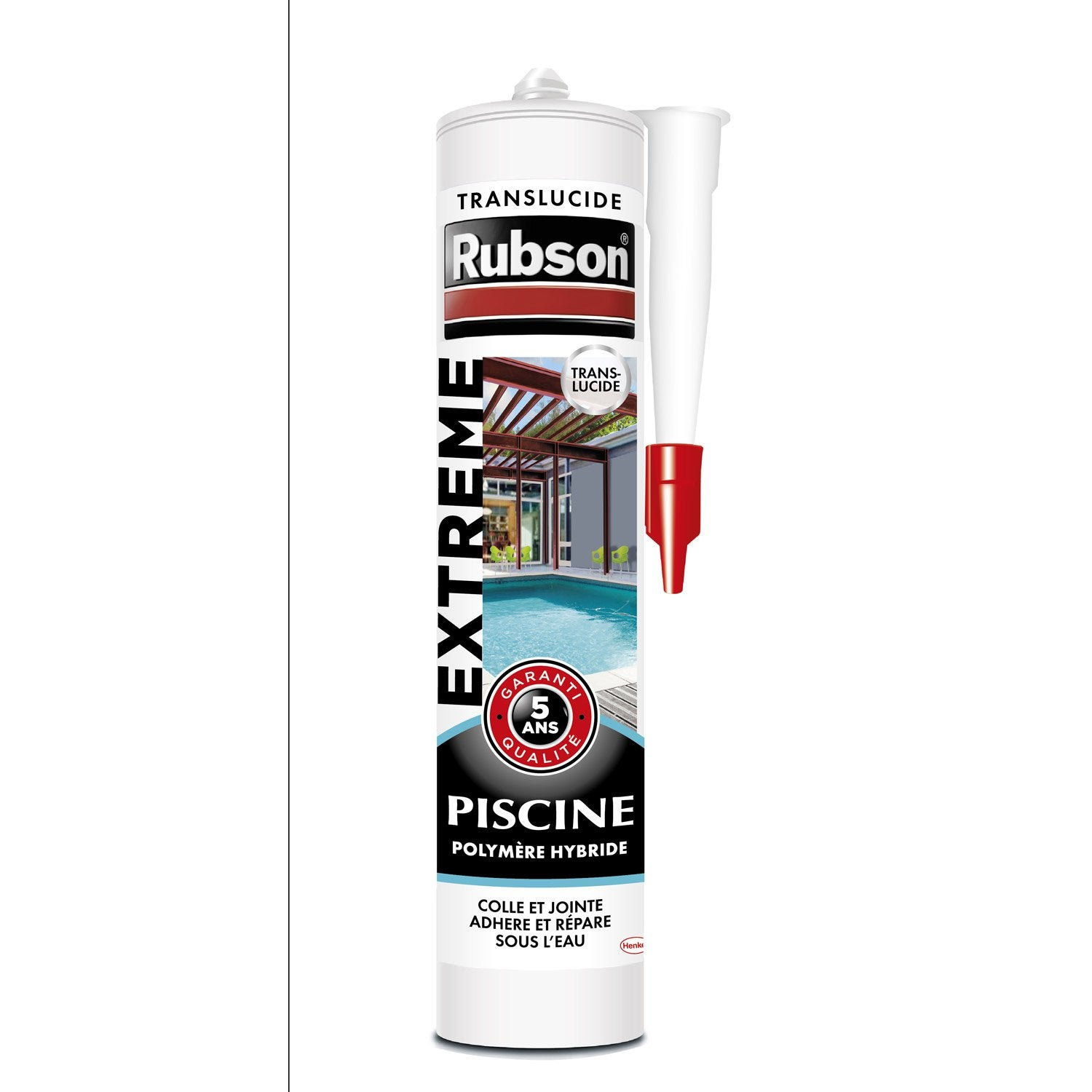 Mastic d 39 tanch it rubson piscine extr me 280 ml for Ciment colle pour carrelage piscine