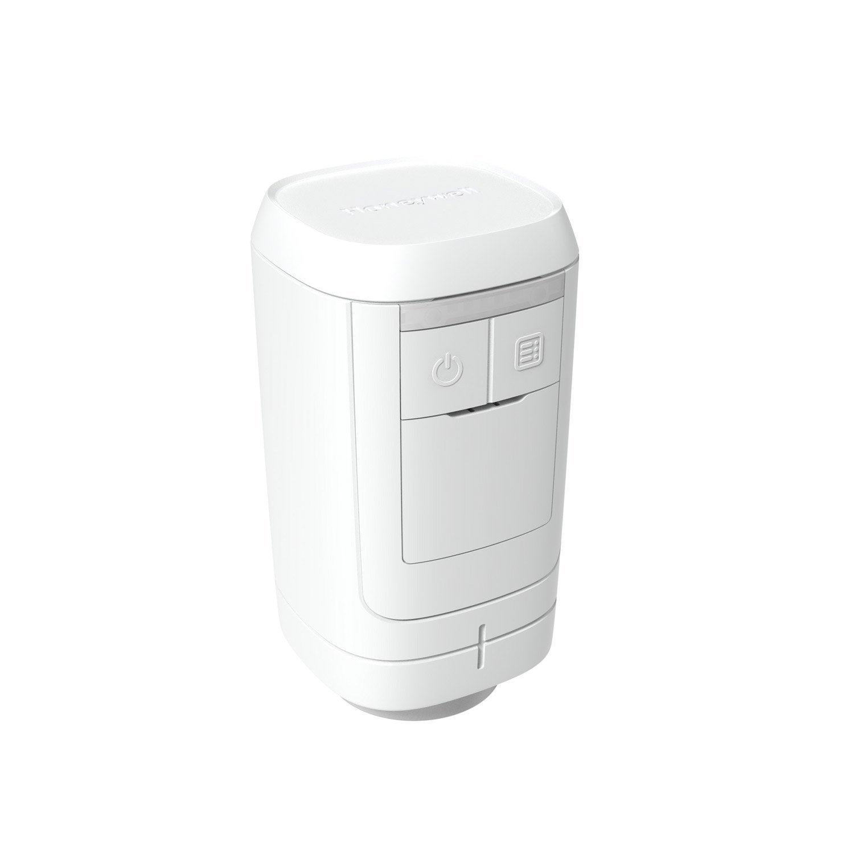 t te de robinet thermostatique connect droite 1 2 femelle pvc blanc honeywell leroy merlin. Black Bedroom Furniture Sets. Home Design Ideas