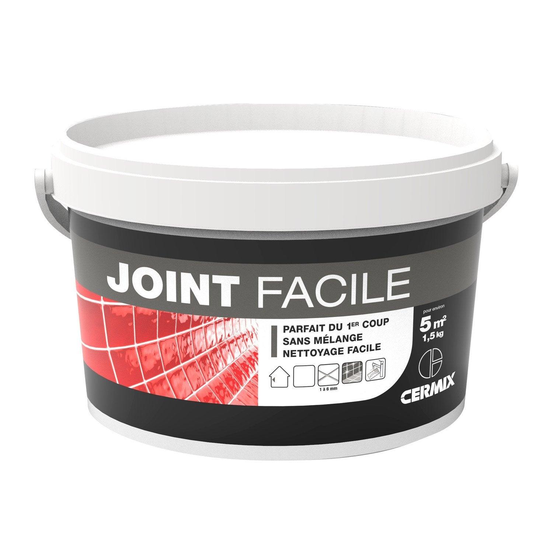 Joint en p te tout type de carrelage et mosa que gris for Pate a joint pour piscine